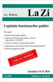 Legislatia functionarilor publici (actualizat la 15.07.2010)