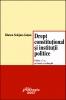 Drept constituţional şi intituţii politice
