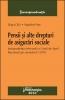 Pensii şi alte drepturi de asigurări sociale