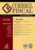 Curierul fiscal, Nr. 12/2010