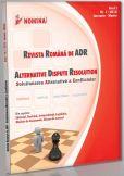 Revista Romana de ADR nr. 1/2012