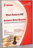 Revista Romana de ADR nr. 2 (2012)