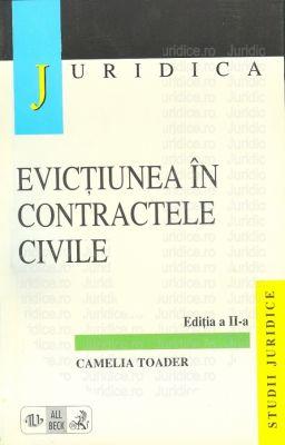 Evictiunea in contractele civile. Editia 2