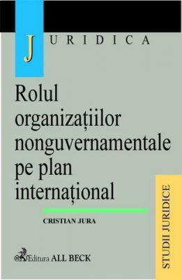 Rolul organizatiilor nonguvernamentale pe plan international