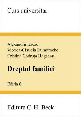 Dreptul familiei. Editia 6