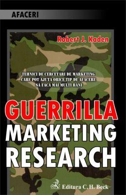 Guerilla Marketing Research