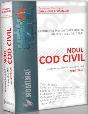 Pachet PROMO: 5 X Noul Cod Civil Republicat - Editie de Lux (4+1Gratuit)