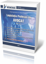 Legislatia Profesiei de AVOCAT, editia 2012