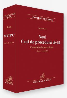Noul Cod de procedura civila 2013   Comentariu pe articole   Carte de: Ioan Les