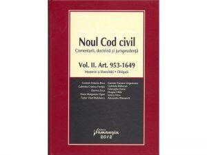 Noul Cod civil Vol. II | Comentarii. Doctrina. Jurisprudenta | Mosteniri si liberalitati, Obligatii