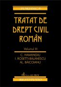 Tratat de drept civil roman. Volumul III