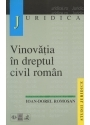 Vinovatia in dreptul civil roman