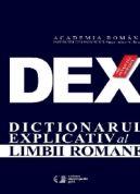DEX Dictionarul Explicativ al Limbii Romane (ed. III)