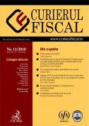 Curierul fiscal, Nr. 11/2010