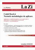 Codul fiscal si Normele metodologice de aplicare (actualizat la 11.10.2010)