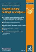 Revista Romana de Drept International, Nr.10/2010