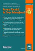 Revista Romana de Drept International. Nr. 9/2009