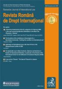 Revista Romana de Drept International, Nr. 8/2009