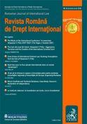 Revista Romana de Drept International, Nr. 6/2008