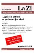 Legislatia privind organizarea judiciara (actualizat la 20.01.2011)
