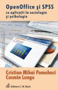 Open Office si SPSS cu aplicatii in sociologie si psihologie