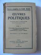 Oeuvres Politiques, Tome V-L`évacuation des provinces danubiennes... (Karl Marx)