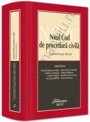 Noul Cod de procedura civila   Comentariu pe articole   Autor-coordonator: Gabriel Boroi