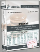 DREPT CIVIL (Cf. NCC, 2014-2015). Sinteze pentru examenele de admitere in avocatura