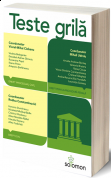 Teste Grila – Drept civil. Drept procesual civil. Drept penal. Procedura penala